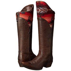 Ariat Women's Caldera Knee High Pendleton Boots